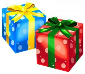 クリスマスプレゼントを子供にあげる