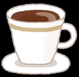 昼寝の眠気覚ましにコーヒー