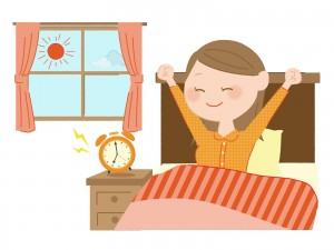 健康的な睡眠時間